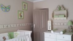 Tatty teddy nursery decor, complements beautifully with white wash cot and compactum. Linen and wall borders available in SA. please send us a mail to orders@borderbout... for more info and prices. We are on Facebook too www.facebook.com/borderboutique.co.za