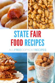 Carnival Eats Recipes, Carnival Food, State Fair Party, State Fair Food, Easy Chinese Recipes, Korean Recipes, Japanese Recipes, Memorial Day Foods, Good Food