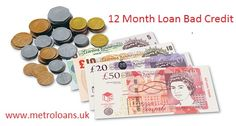 Need a loan but have bad credit history? Don't worry, Metro Loans, is a loan lender provides 12 month loans for bad credit people with affordable installments. We offer cheapest interest rate on 12 month loans for people with bad credit score. For more details about 12 month loans for bad credit people, click: goo.gl/R77mLP