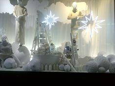winter window displays | White winter display…