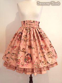 Forest Harvest Festival Skirt