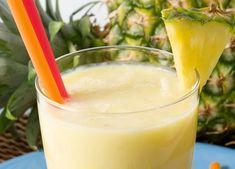 Prepare a bebida potente e mande o inchaço embora de vez - shake de gengibre e abacaxi