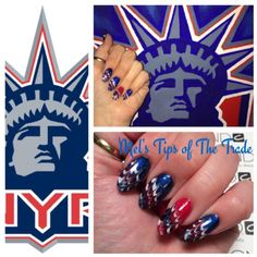 CND Shellac New York Rangers or Fourth of July