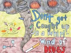 Image result for anti drug poster contest winners