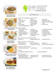 plan de comida de dieta estilo pinoy