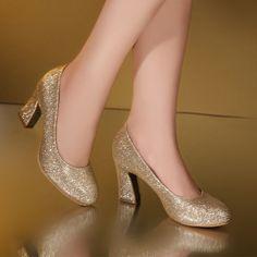26.68$  Watch now - https://alitems.com/g/1e8d114494b01f4c715516525dc3e8/?i=5&ulp=https%3A%2F%2Fwww.aliexpress.com%2Fitem%2FNew-Red-Golden-Fashion-Women-5CM-Brand-High-Heels-Glitter-Wedding-Shoes-Pumps-Hot-Sale-Fashion%2F32781978152.html - New Red Golden Fashion Women 5CM Brand High Heels Glitter Wedding Shoes Pumps Hot Sale Fashion Big Size 34-40 26.68$
