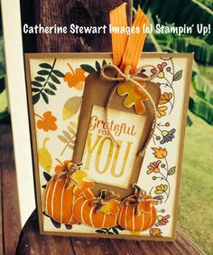 Designs and Expression: Stampin' Up! Fall Fest Card Idea