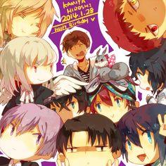 Tags: Fanart, Karneval, Gareki, Pixiv, Noragami, Fanart From Pixiv, Kuroko no Basket, Shin Megami Tensei: Devil Survivor 2, Brothers Conflic...
