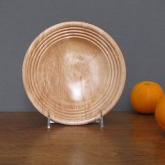Wood salad bowl small snack bowl wood by TreeStreetTurnings