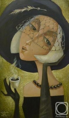 Чашечка черного кофе
