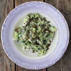 HANDELSHUSET HETTE — Broccoli salat - raw food  ...