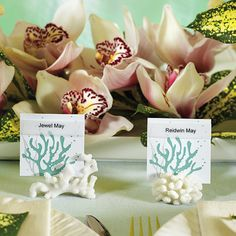 Table card holders