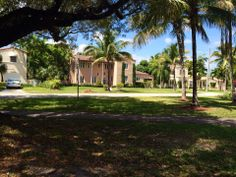 Coral Gables Miami City, Coral Gables, Sidewalk, Florida, Mansions, House Styles, World, Places, Beautiful