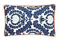 Shine 12x20 Outdoor Pillow, Blue