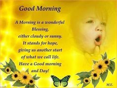 Good Morning quotes www.chexclusives.blogspot.com