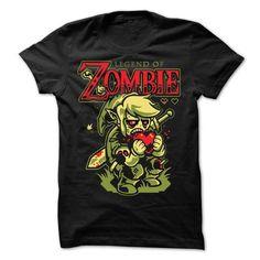Legend of Zombie T-Shirt Hoodie Sweatshirts aie