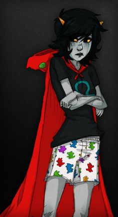 Terezi Pyrope, Homestuck- I really like this art of her (and the style) Homestuck Trolls, Homestuck Cosplay, Homestuck John, Homestuck Funny, Homestuck Karkat, Davekat, And So It Begins, Dragons, Pokemon