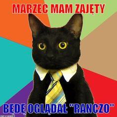 """Marzec mam zajęty – Marzec mam zajęty będę oglądał """"Ranczo""""."""