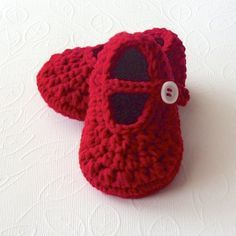 Crochet Baby Booties PATTERN Crochet Baby Girl Shoes Pattern