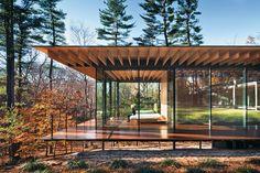 Wohnhauserweiterung in Connecticut von Kengo Kuma