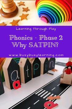 Phonics Phase 2 SATPIN fun phonics activities for kids Jolly Phonics Activities, Phonics For Kids, Eyfs Activities, Phonics Games, Teaching Phonics, Preschool Learning Activities, How To Teach Phonics, Alphabet Phonics, Nursery Activities