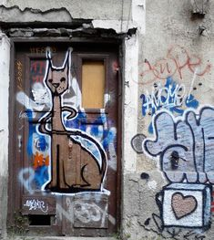 My 'egyptian' Like Cat At An Abandoned House Sofia, Bulgaria