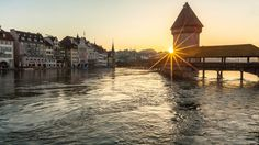 Lucerne - Switzerland's city of delights.