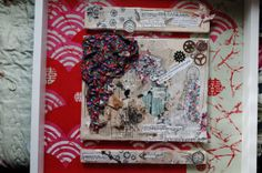 Keep on dreaming' original collage on a canvas by KeepOnDreamer, €80.00
