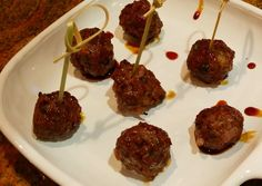Oh! You Cook!: Moroccan Meatballs in Pomegranate Sauce