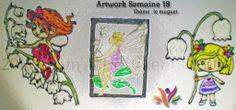 Voici l'#artwork de cette semaine sur le thème du muguet. Un p'tit brin qui porte bonheur. http://sam-art-clients.fr/