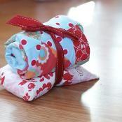 Goodnight Doll Sleeping Bag and Pillow - via @Craftsy