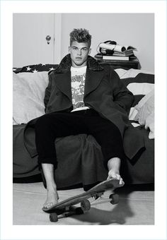 Full Tilt Boogie: Mitchell Slaggert for At Large - The Fashionisto