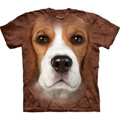 The Mountain Dog T-shirt | Beagle Face