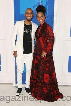 MTV Video Music Awards - Swizz Beatz y Alicia Keys