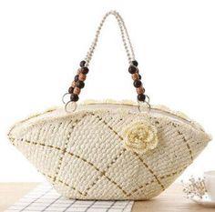 FLYING BIRDS! 2016 beach bag women handbags women straw bag summer handbags bolsas women's bags brands travel bags LS8718fb
