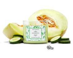 Cucumber & Melon Tri-Wick Jewel Candle