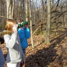 "Instilling a love of nature in kids through birdwatching. Read about tried and true diversions during day hikes with children in ""Hikes with Tykes: Game and Activities."""