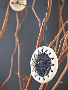 String art - clay ornaments