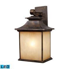 ELK Lighting 42182/1-LED San Gabriel Collection Hazlenut Bronze Finish