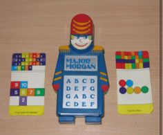 Major Morgan by playskool Aww the hours I spent making tunes up on this hehe