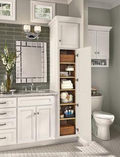 Bathroom Designs by KraftMaid® Cabinetry – Woodwork Solutions