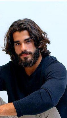 Most Beautiful Faces, Gorgeous Men, Hairy Men, Bearded Men, Curly Hair Men, Curly Hair Styles, Medium Length Cuts, Sexy Men, Hot Men