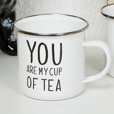 https://www.sassandbelle.co.uk/You Are My Cup of Tea Enamel Mug
