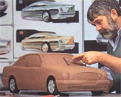 1995 Mercedes-Benz E-Class W210 | Clay model