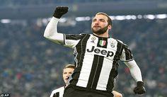 Juve di Kabarkan Menolak Tawaran Chelsea Untuk Higuain