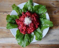 Gudrun's daily kitchen - ein österreichischer Foodblog: Rote-Rüben-Risotto… Risotto, Gudrun, Homemade Food, Beetroot, Allrecipes, Cabbage, Vegetables, Kitchen, Amazing