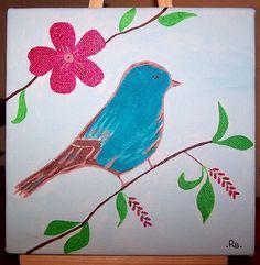 blue bird by RB