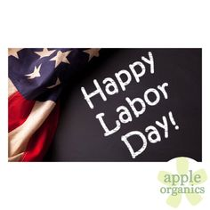 Happy Labor Day! Have a safe and happy holiday! (Oh, and don't forget your…