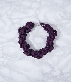 sailing ropw chocker by alienina Chocker, Contemporary Jewellery, Sailing, Crochet Necklace, Necklaces, Bracelets, Handmade, Jewelry, Ideas