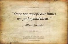 Thought of the Day: Once we accept our limits we can go beyond them. #thoughtoftheday pic.twitter.com/kBR5HdZFSw